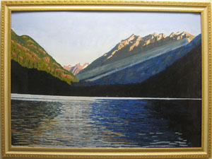Painting: Stehekin early morn by Don Duncan